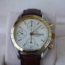 Omega Speedmaster date Chronograph Gold/Steel
