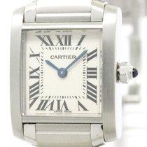 Cartier Polished Cartier Tank Francaise Steel Quartz Ladies...