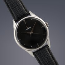 Omega Oversize stainless steel manual watch
