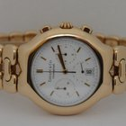 Tiffany Tesoro Chronograph Quartz 18K Yellow Gold 37mm Watch