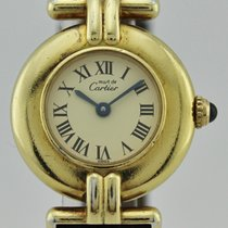 Cartier VERMEIL RIVOLI QUARTZ