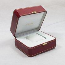 Cartier Uhrenbox mit Umkarton und Beschreibungsheft