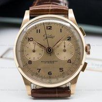 Jolus Vintage Manual Chronograph 18K Pink Gold (24094)