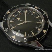 """Jaeger-LeCoultre : Very Fine & Rare Memovox """"Tribute..."""
