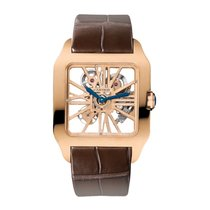 Cartier Santos Dumont Manual Mens Watch Ref W2020057