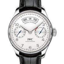 IWC Schaffhausen IW503501 Portugieser Annual Calendar Silver...