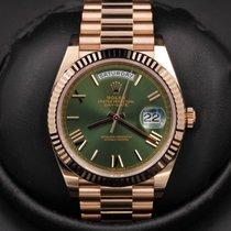 Rolex Day-Date 40 - 228235 - Anniversary Green Roman Dial -...