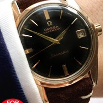 Omega Pink gold plated rose Seamaster Automatic Automatik rot