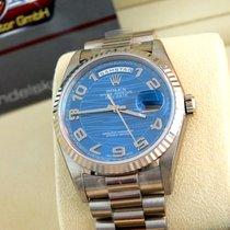 "Rolex 18239 DAY Date "" Wave"" 36mm/Neu & verklebt/W..."