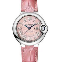 Cartier WSBB0002 Ballon Bleu Ladies 33mm Automatic in Steel -...
