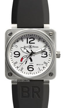 Bell &amp;amp; Ross BR 01-97 Power Reserve Steel