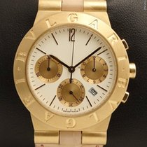 Bulgari Diagono Sport Chronograph 18K Yellow Gold