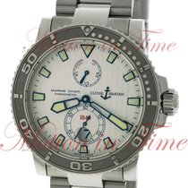 Ulysse Nardin Maxi Marine Diver 42.7mm, Silver Dial - Stainles...