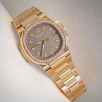 Patek Philippe Ladies Nautilus Rose Gold Diamonds 7010/1R-012...