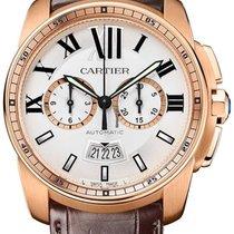 Cartier Calibre Automatic Chronograph Date Mens W7100044