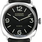 Panerai Radiomir Black Seal 8 Days 45mm Mens Watch