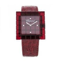 Chopard Be Mad Red Diamond Dial Quartz Women's Watch 12/7780