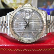 Rolex Oyster Perpetual Datejust Thunderbird Stainless Steel...