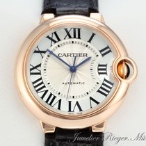 Cartier BALLON BLEU MEDIUM 36 mm ROSEGOLD 750 AUTOMATIK