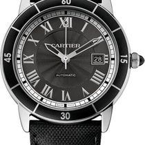 Cartier Ronde Croisiere 42 Automatic Black Dial