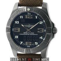 Breitling Aerospace Evo Night Mission GMT Black Titanium 43mm...