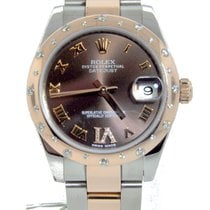 Rolex Lady Datejust 31mm Steel and Everrose Gold