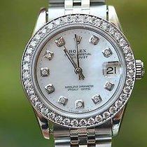 Rolex Midsize Steel 79240 Diamond Mop Dial & Bezel 31mm...