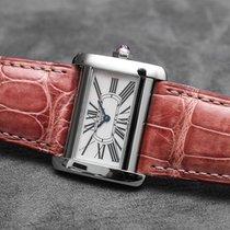 Cartier Tank Divan Nacre / Mother of pearl - Fullset