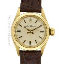 Rolex 14k yellow gold lady Oyster Perpetual