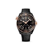 Omega Seamaster Black Ceramic Black Dial Deep Black 18K Sedna...