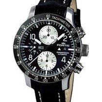Fortis B-42 Stratoliner Chronograph - Black Dial - Black...