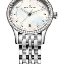 Maurice Lacroix Les Classiques Stainless Steel Ladies Watch...