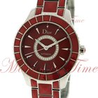 Dior Christal Automatic, Red Diamond Dial, Red Sapphire...