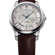 Maurice Lacroix Pontos Day Date Mens in Steel