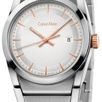 ck Calvin Klein step Damenuhr K6K33B46