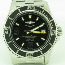 Breitling Superocean A17391 Stainless Steel W/ Papers 44mm...