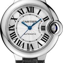 Cartier BALLON BLEU DE CARTIER WATCH  33 mm, Steel, Leather