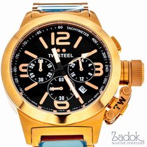 TW Steel Canteen Chronograph 40mm x 11mm Rose Gold Men's...