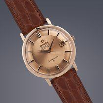 Omega Constellation 18ct gold case+dial 'Pie-Pan'...