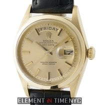 Rolex Day-Date Vintage 18k Yellow Gold 36mm Champagne Dial...