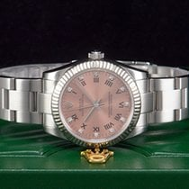 Rolex Oyster Perpetual 31mm Midsize Lady Stahl/Weißgold 750 LC100