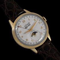 Jaeger-LeCoultre 1949 Vintage Mens Triple Date Moon Phase...