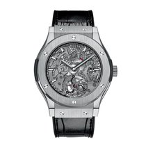 Hublot Classic Fusion Skeleton 45mm Automatic Titanium Mens...