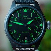 IWC Big Pilot Top Gun Green Luminova LTD Ceramic 48mm