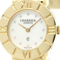 Charriol St-tropez Mop Dial Pink Gold Plated Quartz Ladies...