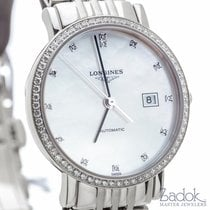 Longines Elegant Collection 29mm Stainless Steel Women's Watch...