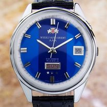 Orient Weekly Swimmer Vintage Rare Mens Made In Japan Automati...