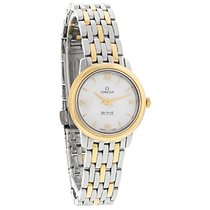 Omega De Ville Prestige Ladies Swiss Quartz Watch 424.20.24.60...