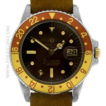 Rolex stainless steel and 18k yellow gold vintage 1972 GMT-Master