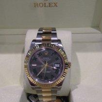 Rolex Datejust II 41 mm Edelstahl / Gelbgold Ref. 116333 Slate R